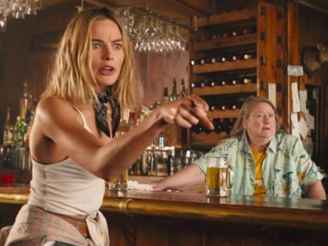 Margot Robbie appeared in Tourism Australia's Dundee trailer campaign, and has been suggested as a possible replacement for Paul Hogan's character in a rebooted movie. Picture: Dundee Movie