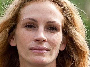Actress Julia Roberts as Elizabeth Gilbert in scene from the film Eat Pray Love.