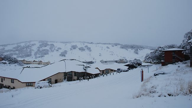 Perisher had a good early season cover this week. Picture: Perisher