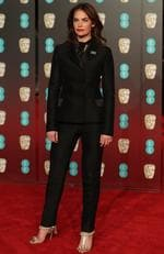 British actress Ruth Wilson poses on the red carpet upon arrival at the BAFTA British Academy Film Awards at the Royal Albert Hall in London on February 18, 2018. Picture: AFP PHOTO / Daniel LEAL-OLIVAS