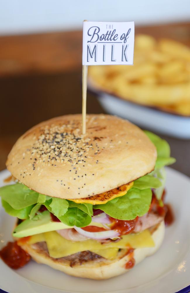 Lorne's famed burger bar The Bottle Of Milk made the list. Picture: Bear Mitch