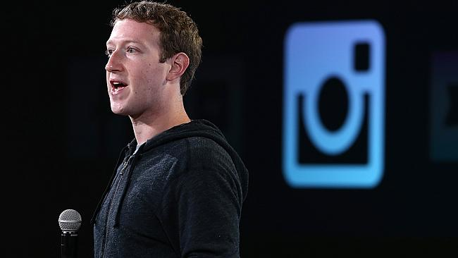 Mark Zuckerberg's personal net worth is now $US29.7 billion after the latest Facebook stock surge. Picture: AFP.