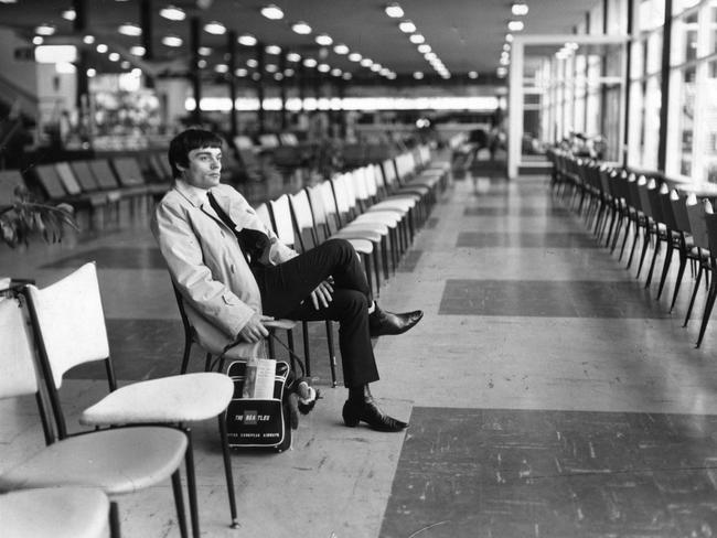 Stand-in drummer Jimmie Nicol later flew out of Essendon Airport after playing in Sydney and Adelaide. Ringo Starr joined the tour in Melbourne. Picture: Herald Sun Image Library