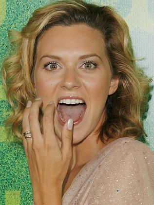 Actress Hilarie Burton. Picture: AP