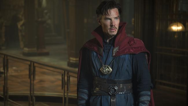 Benedict Cumberbatch plays Doctor Stephen Strange.