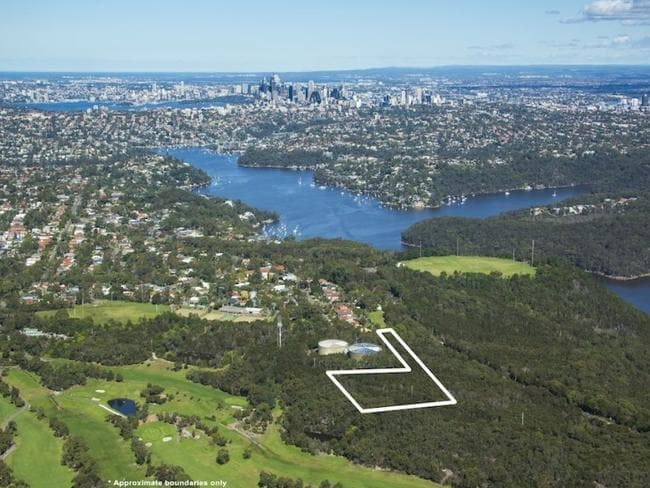 Sydney Water board land in Seaforth.