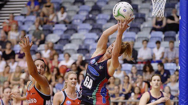 Melbourne Vixens player Tegan Caldwell. Picture: Jason Edwards