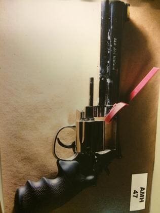 The gun fired by Michael Craig Anderson during the attack.