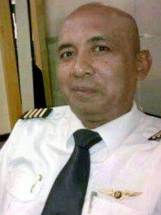 MH370 victim Captain Zaharia. Picture: Supplied