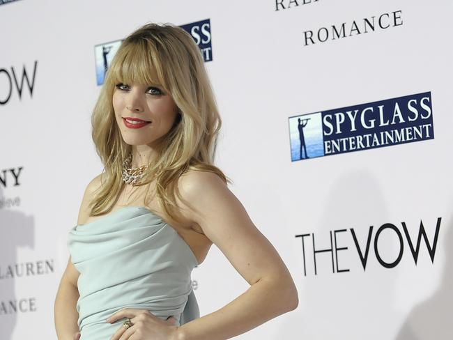 Love story ... Actress Rachel McAdams has had a number of celebrity boyfriends.
