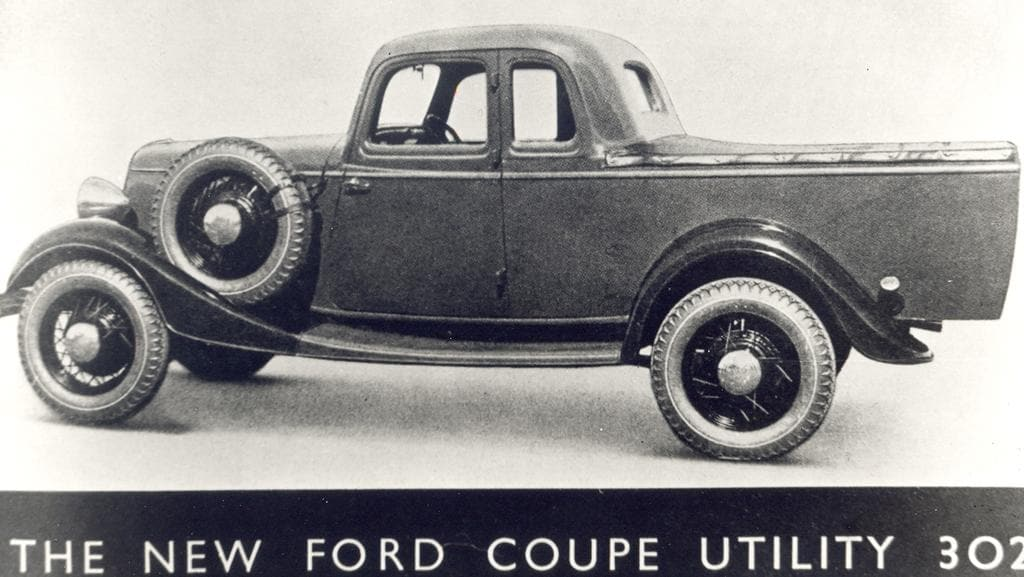 The ute: Lewis Bandt\'s great Aussie invention designed to \'drive to ...