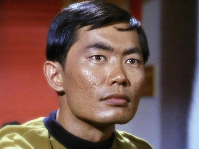 Takei played Mr Sulu in the television series Star Trek.