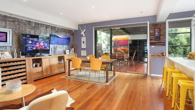 It is easy to see why the buyer was attracted to the property, with its open plan and stylish interiors.