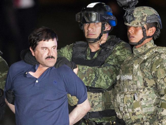 Authorities determined not to let El Chapo slip through their fingers again. Picture: AP Photo/Eduardo Verdugo