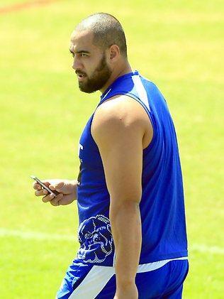 Bulldogs prop Sam Kasiano. Picture: Mark Evans