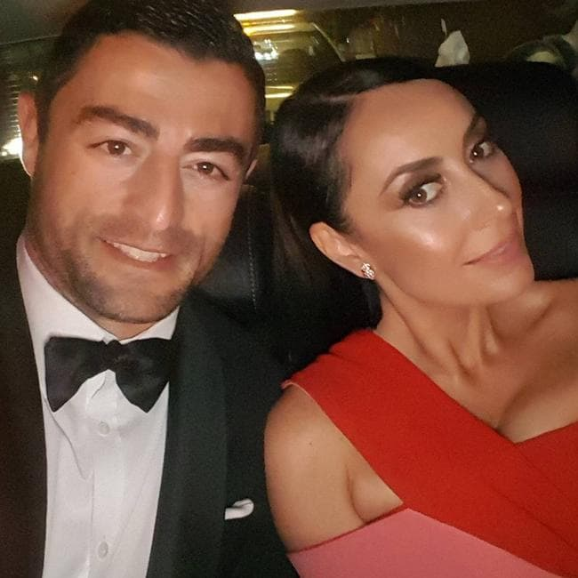 Terry Biviano and husband Anthony Minichiello. Picture: terrybiviano/Instagram