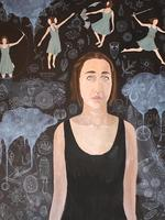 Sace Art Show 2014 - Sarre Maddie - Self portrait with emotions