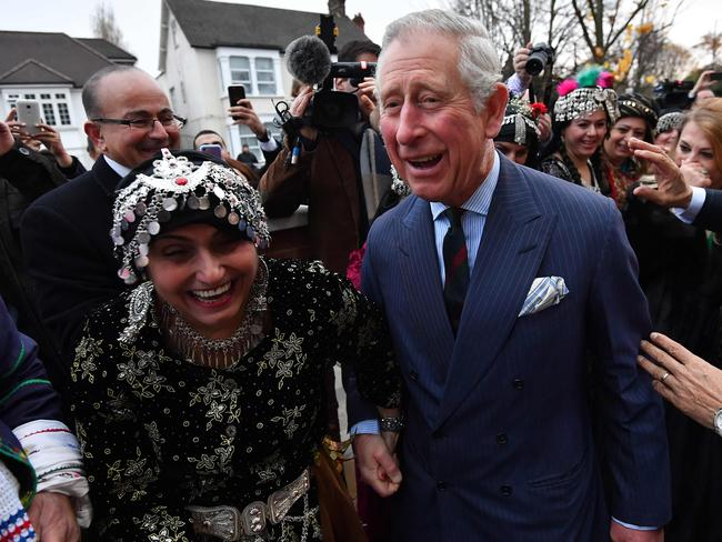 "Prince Charles described his time at university as a very ""special experience"". Picture: AFP"