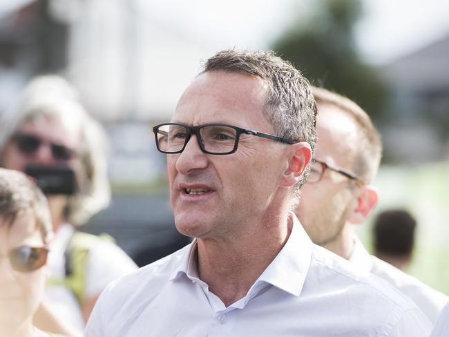 Greens Leader Dr Richard Di Natale's leadership will be closely assessed after latest results. (AAP Image/Ellen Smith)