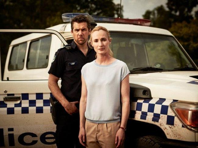 Return to sender ... Genevieve Reilly plays a doctor and Patrick Brammall is a small town cop.