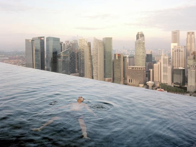 The Marina Bay Sands Hotel, Singapore, 2013. Pic: Paolo Woods and Gabriele Galimberti/INSTITUTE.