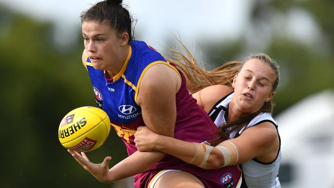 The Lions suffered a shock loss to the Magpies and will now need other results to go their way to make the AFLW Grand Final.