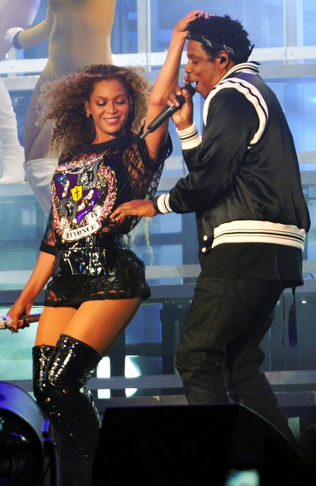 Deja Vu! Beyonce and Jay Z at Coachella. Picture: Splash