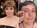 MAKE-UP FREE SPECIAL: American filmmaker and actress Lena Dunham. Picture: Getty/Instagram