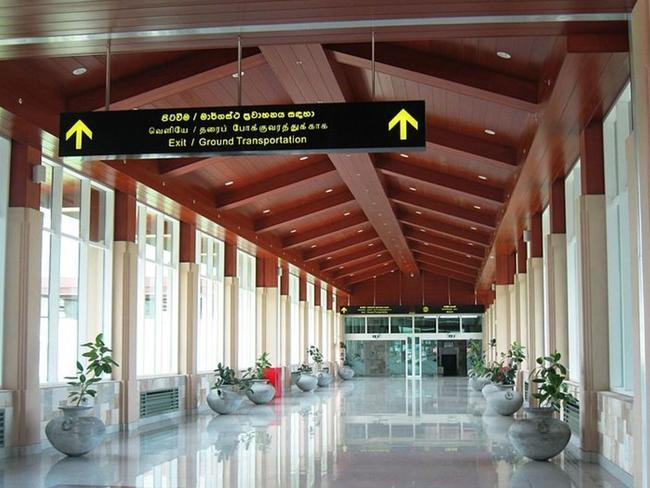 The empty main entrance hall to Mattala Rajapaksa International Airport. Picture: Wikimedia Commons/Anuradha Dullewe Wijeyeratne