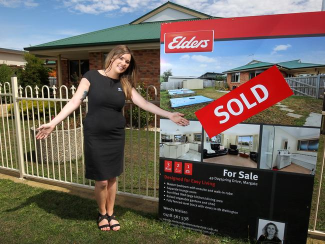 Ashley Tuttle sold her home in Margate quick smart. Picture: ROGER LOVELL
