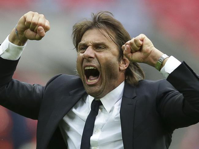 Chelsea' manager Antonio Conte was a happy man after the victory.