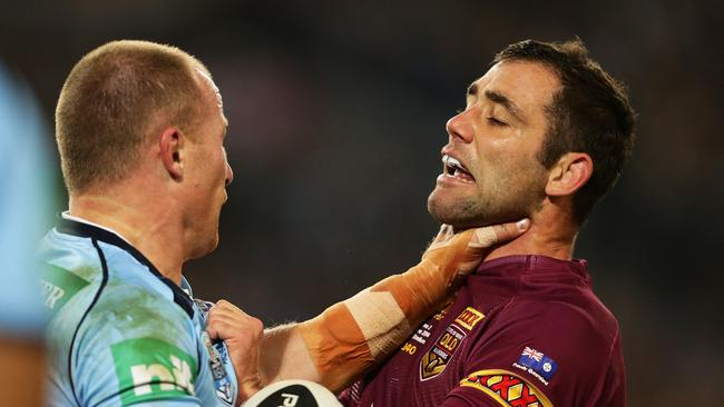 Beau Scott and Cameron Smith come face to face.