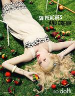 <p>Peaches Geldof, daughter of musician Bob Geldof featured in an advertisement for clothing line Dotti.</p>
