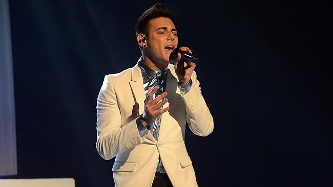 The X Factor Top 7 - Omar Dean.