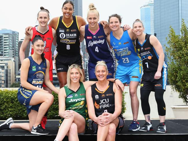This year's competition will see the return of a number of big names, including Liz Cambage.
