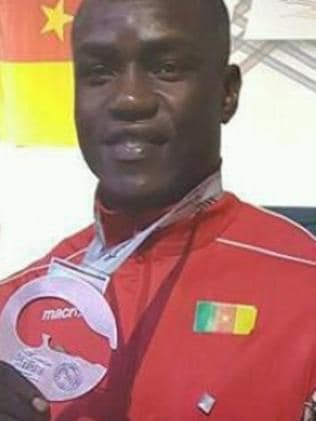 Missing Cameroon boxer Arsene Foukou.