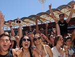 Fans watch Tame Impala at the 2014 Big Day Out on the Gold Coast, Picture: Matt Roberts/Getty Images