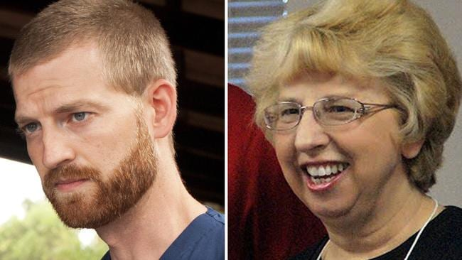 Dr. Kent Brantly and Nancy Writbol. Picture: Joni Byker