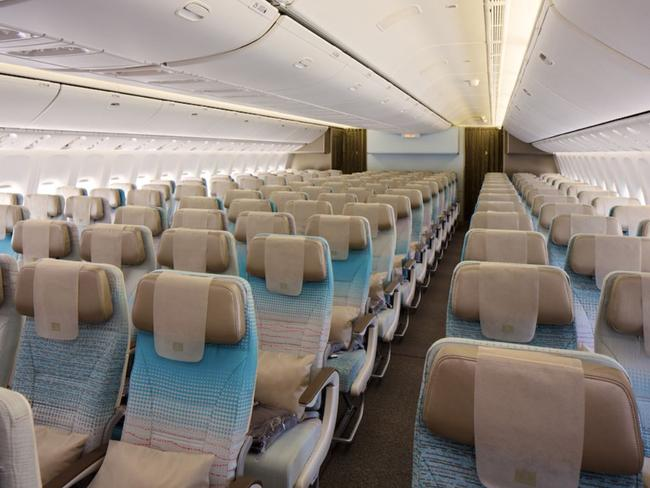 Economy class isn't too shabby either. Picture: Emirates