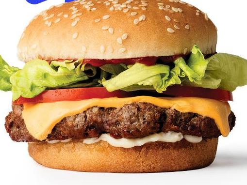 The burger at centre of food war