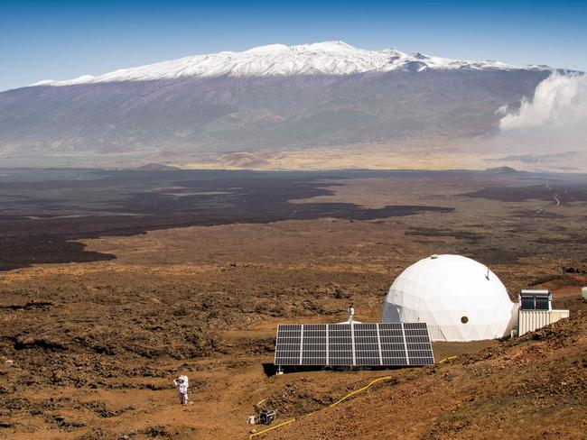 Scientists recently spend a year in isolation in Hawaii in conditions emulating a Mars settlement.