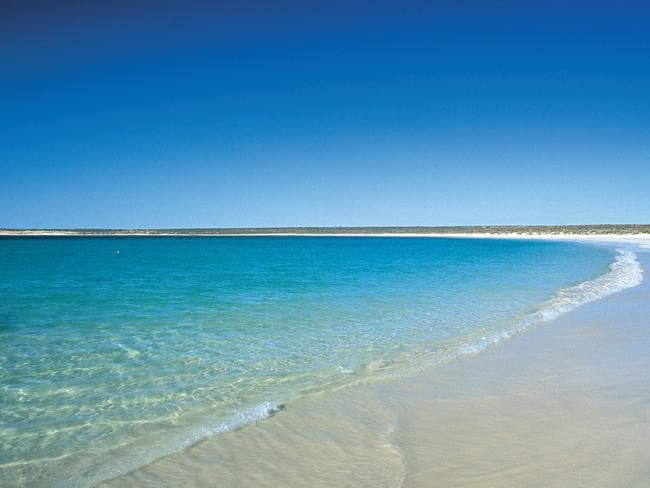 Tourism destination .. Gnaraloo Bay off the coast of Western Australia. Picture: Supplied