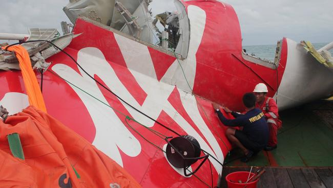 Indonesia AirAsia was involved in the fatal crash of an A320 carrying 162 people on December 28. Pic: AFP PHOTO