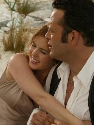 Isla Fisher and Vince Vaughn in 2005 film Wedding Crashers. Picture: Supplied