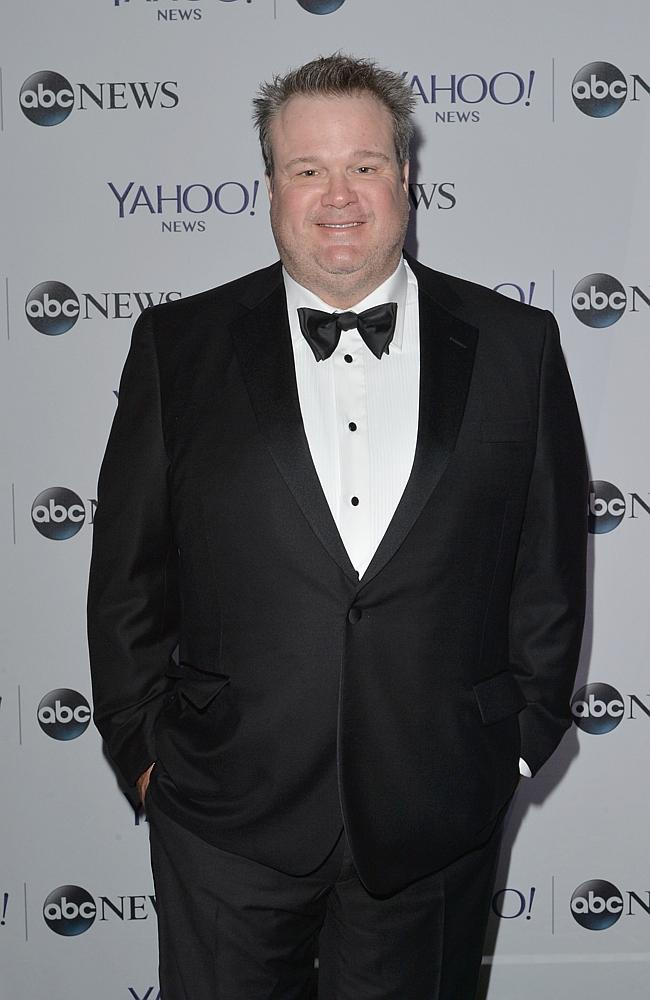 Eric Stonestreet scrubbing up nicely. More Modern Family stars below. (Photo by Andrew H. Walker/Getty Images for Yahoo News)