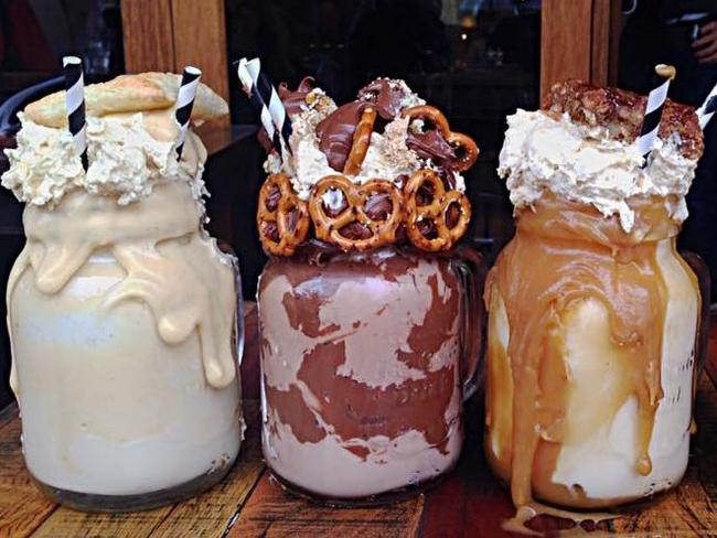 The Freakshow milkshakes at Patissez are almost too good to be true.