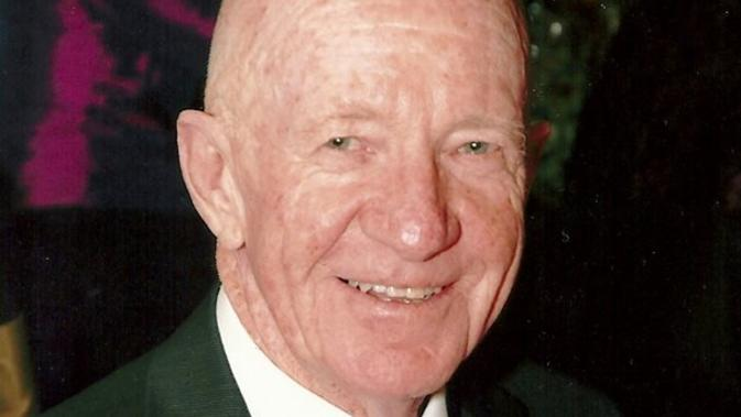The late Peter Page - motor industry giant and Central District club legend. Picture: Facebook