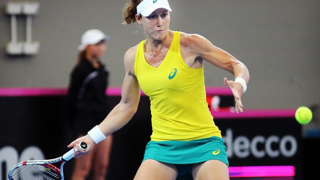 Sam Stosur lost both her matches against the Germans in April.