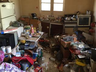 Property liftout: Hoarders house before pictures. 38 Plunkett St Paddington