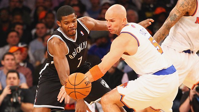 Joe Johnson and Jason Kidd